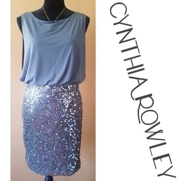 e652054793d Cynthia Rowley Dresses   Skirts - 🌟Dazzling Sequined Cocktail Dress